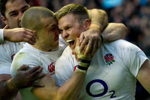 Take the England team which recently turned the rugby world on its head, putting in what many called the nation's best performance at Twickenham. Photo / AP