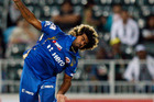 Lasith Malinga has no regrets about retiring from test cricket. Photo / AP