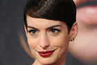 Actress Anne Hathaway. Photo / AP