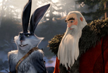 Alec Baldwin's character in Rise of the Guardians, North (right) is a co