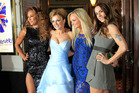 From left, Mel B, Geri Halliwell, Emma Bunton and Mel C. Photo / AP