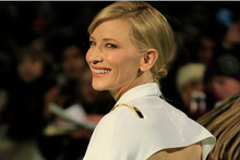 Actress Cate Blanchett arrives at the London premiere of The Hobbit: An Unexpected Journey.Photo / AP