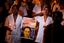 Colleagues of Jacintha Saldanha remember her life. Photo / AP