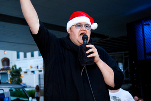 "Kim Dotcom considers himself the ""Victim of the Year"". Photo / Neville Marriner"