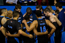The Breakers reflect on their loss after the game Saturday night. Photo / NZ Herald