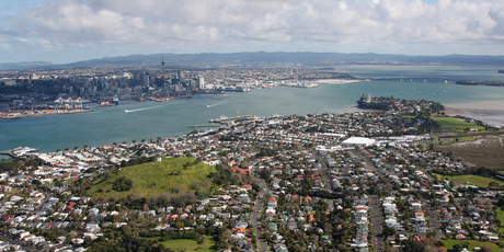 Reinz figures for Auckland showed sales volumes, and prices, increasing in 21 out of 24 areas and in some suburbs by over 30 per cent. Photo / Brett Phibbs