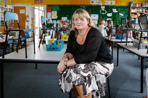 Sandra Aitken says Pt Chev Primary will struggle with more pupils.  Photo / Greg Bowker