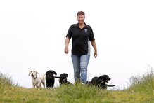 Founder Julie Hancox says there's a long waiting list for assistance dogs. Photo / Christine Cornege