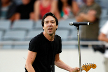 Jon Toogood from Shihad. Photo / NZ Herald