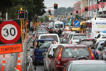 Auckland City Council says there will be inadequate road capacity to meet demand after 2021. Photo / Greg Bowker