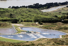 Wanganui wastewater treatment plant. Photo / File / Stuart Munro