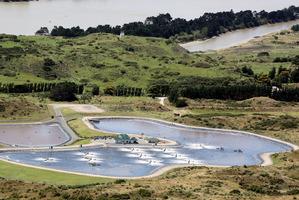 Wanganui wastewater treatment plant. Photo / File / Stuart Munro