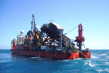 Taranaki Basin exploration vessel. Photo / Supplied