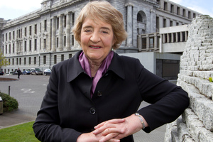 Dr Jan Wright, the Parliamentary Commissioner for the Environment, in Wellington.  Photo / Mark Mitchell