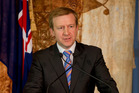 State Services Minister Jonathan Coleman, also the Defence Minister. Photo / Steven McNicholl