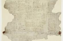 A colour photo lithograph of the Treaty of Waitangi.  Photo / Alexander Turnbull Library