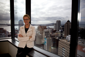 ASB chief executive Barbara Chapman is the only Kiwi in charge of one of the four major Australian-owned banks. Photo / Dean Purcell