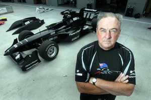 Bob McMurray, who helped put together Black Beauty for Team NZ's A1 GP bid, will be hosting the trip which will include the Indy 500. Photo / Steven McNicholl