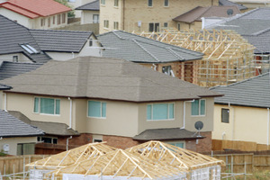 A lift in housing construction would support areas such as durable goods. Photo / NZPA