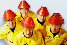 Devo are playing at A Day on The Green at Villa Maria on Saturday. Photo / Supplied