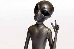 A missing alien has sparked a dispute in Whakatane. Photo / File
