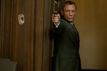 Daniel Craig as James Bond in S