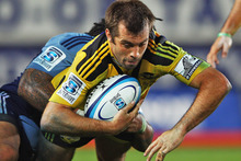 Conrad Smith's last minute try secured a dramatic victory for the Hurricanes. Photo / Getty Images