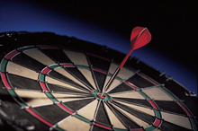 In a 1996 study, one group was asked to visualise success in a darts competition, the other to reflect on past mistakes and what could be done to correct them. The latter did much better than the former.  Photo / Thinkstock