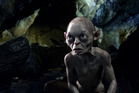 Gollum in a scene from The Hobbit. Photo/supplied