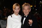 Actors Cate Blanchett and Ian McKellan. Photo / AFP