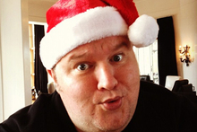 Kim Dotcom is Santa in MegaChristmas.