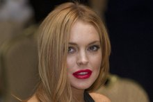 Lindsay Lohan at White House Correspondents Association Dinner. Photo/AP