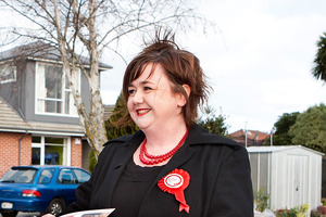 Labour Party MP for Wigram, Megan Woods. Photo / File / Martin Hunter