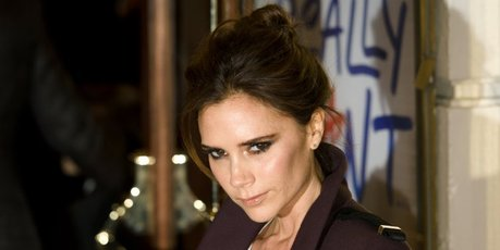 Victoria Beckham on the red carpet at the premiere of the Spice Girls musical.Photo / AFP