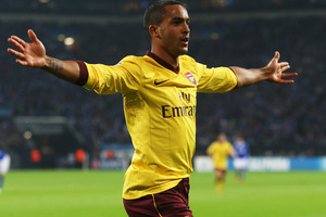 Arsenal striker Theo Walcott. Photo / Getty Images.
