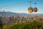 The Chilean capital, Santiago. Photo / Thinkstock