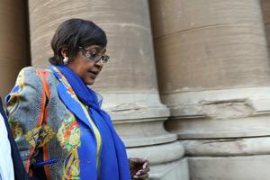 Winnie Madikizela-Mandela. Photo / Getty Images