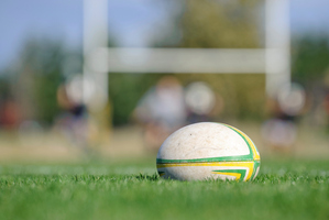Astroturf in-goal areas were an issue when the All Blacks played the Wallabies in Tokyo in 2009. Photo / Thinkstock