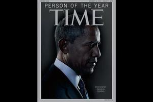 President Barack Obama is Time Magazine's Person of the Year. Photo / AP