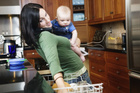 Latest stats from the UK show fewer than one in ten women are stay-at-home mums.Photo / Thinkstock