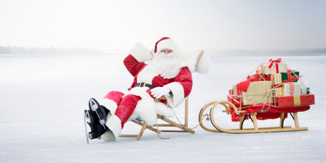 Santa Claus has taken time out to chat with us. Photo / Thinkstock