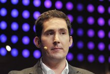 CEO and co-founder of Instagram Kevin Systrom. Photo /AFP