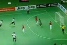 Brazilian futsal star Falcao scores sublime backheel lob goal. Video / Youtube: Football427video