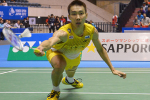 Chong Wei Lee of Malaysia. Photo / Getty Images.