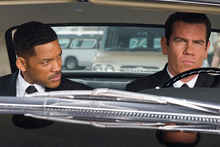Will Smith and Josh Brolin in MIB III. Photo/supplied