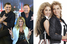 <i>New Zealand's Got Talent</i> judges (left) Jason Kerrison, Rachel Hunter and Ali Campbell spent more than three months in our living rooms. Right, Jaime and Sally Ridge starred in the reality show The Ridges. Photo / Otago Daily Times/Supplied