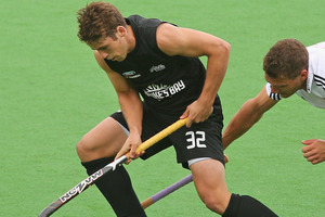 Nick Wilson of the Black Sticks. Photo / Scott Barbour.