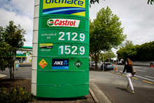 The Government yesterday announced a treble price rise of 3c a litre at the pump for the next three years. Photo / Dean Purcell
