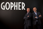 Gopher co-founders John Campbell and BJ Sveistrup are on the lookout for investors.Photo / Greg Bowker