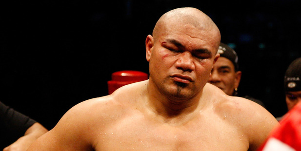 Heavyweight boxer David Tua has re-signed with Duco Events. Photo / Getty Images